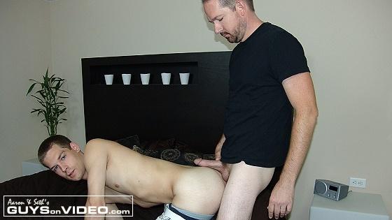 Seth Mounts JJ and Fucks Him Bareback